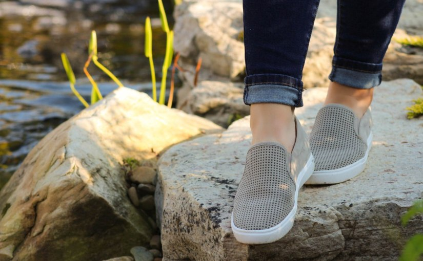 Eden Perforated Slip-On SneakerReview